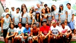Surfista Travels Participants with instructors from San Juan Surf School