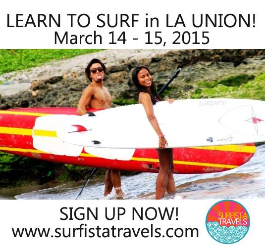 MARCH 14-15, 2015 LA UNION