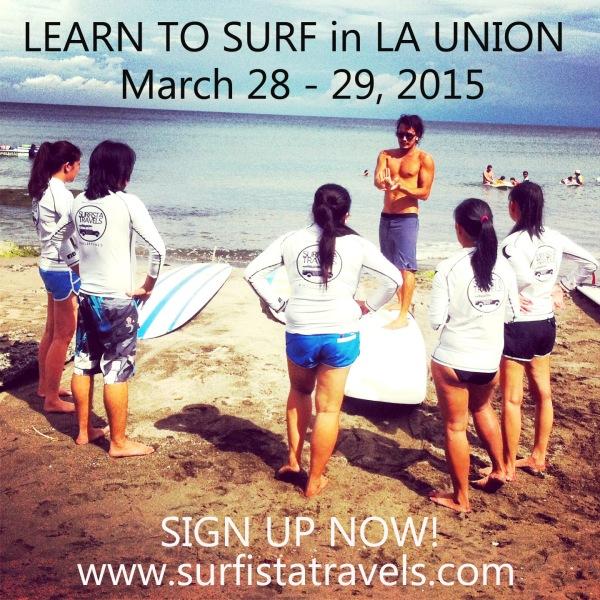 MARCH 28 - 29, 2015 LA UNION