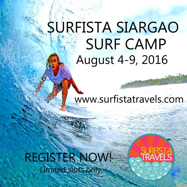Siargao August 4 - 9, 2016