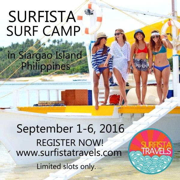 Siargao September 1-6, 2016