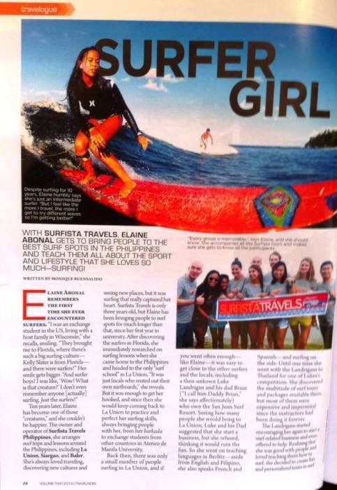 Travel Now Magazine, April 2014 - part 1