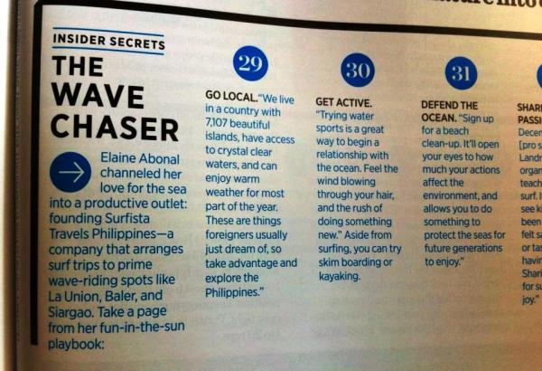 Women's Health Magazine Philippines, April 2014