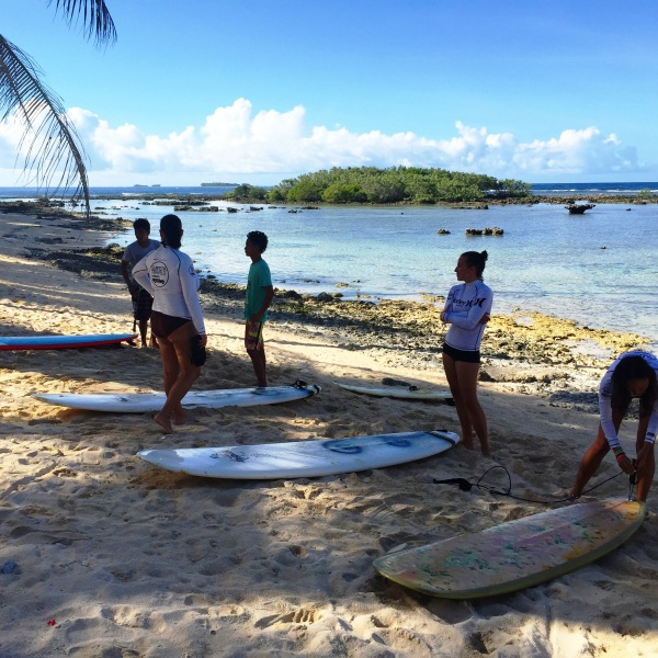 Whether you are a total beginner or a more intermediate surfer girl with your own surfboard, you are WELCOME to join and we will find a surf instructor who can cater to your surfing needs and level! Your surfing skills will surely improve with Siargao's waves and conditions.